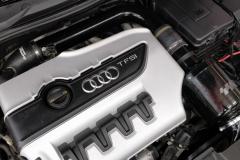 Audin moottorin suoja oli ainoa, mikä sopii VW Racing imuputkiston ja suodattimen kanssa nätisti.