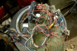 Tässä niitä vanhempia sähköjä lähdössä kaatopaikalle...