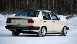Autohan ei koskaan ole valmis... mutta eiköhän tällaisena nyt mennä talvi ja kevät 2008.