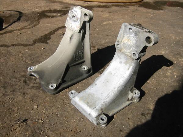Moottorin takakannatin vaihdettiin jälleen kakkoskorisen omaan.